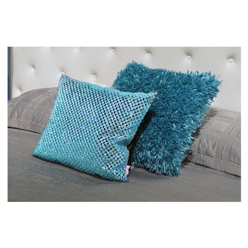 Dolce Blue Accent Pillow El Dorado Furniture