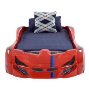 Fun Car Bed w/Mattress  alternate image, 2 of 6 images.