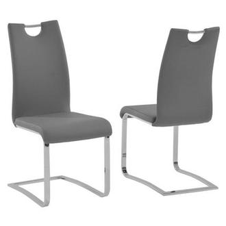 Josseline Gray Side Chair