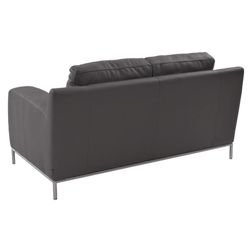 Cantrall Gray Loveseat  alternate image, 3 of 6 images.