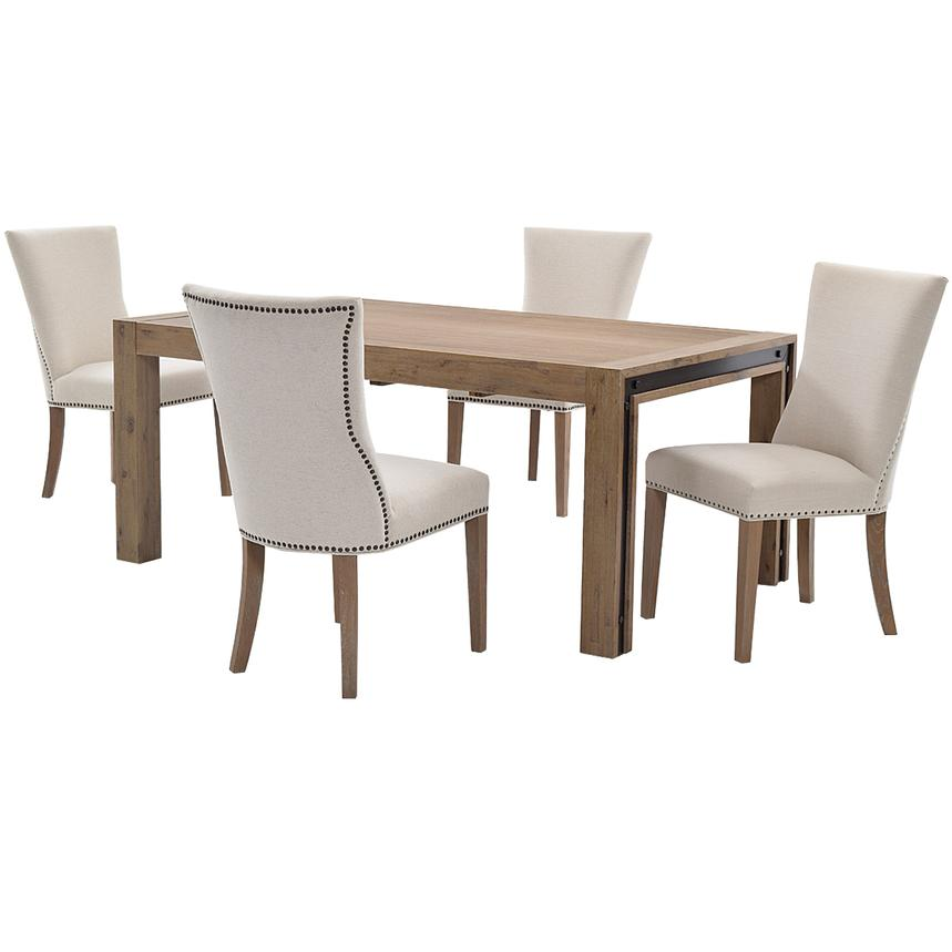 Formal Dining Room Sets For 10: Pinot/Riverdale 5-Piece Formal Dining Set