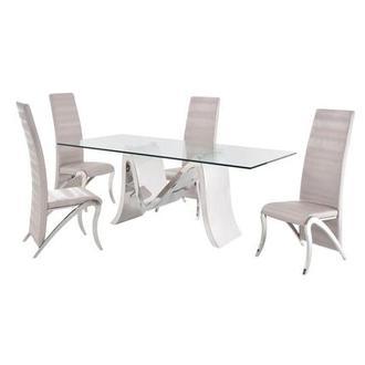 Maverick 5 Piece Formal Dining Set