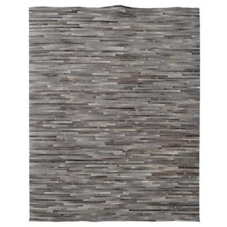 Capri Gray Cowhide Patchwork 8' x 10' Area Rug