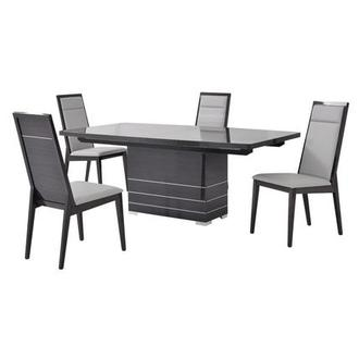Valery 5-Piece Formal Dining Set Made in Italy