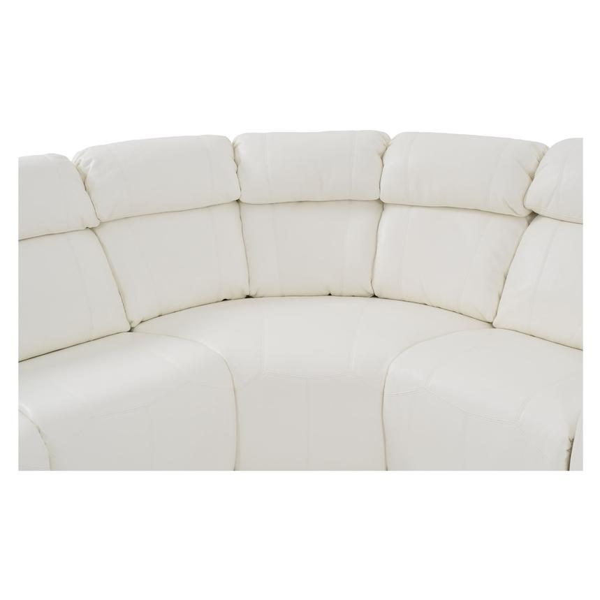 Magnetron White Power Motion Sofa w/Right & Left Recliners  alternate image, 4 of 9 images.