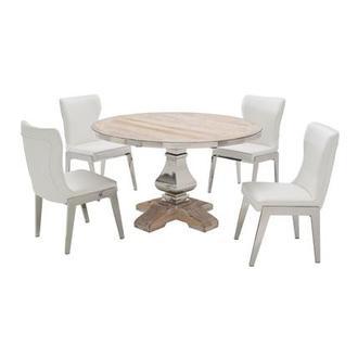 Wilma Round Dining Table El Dorado Furniture