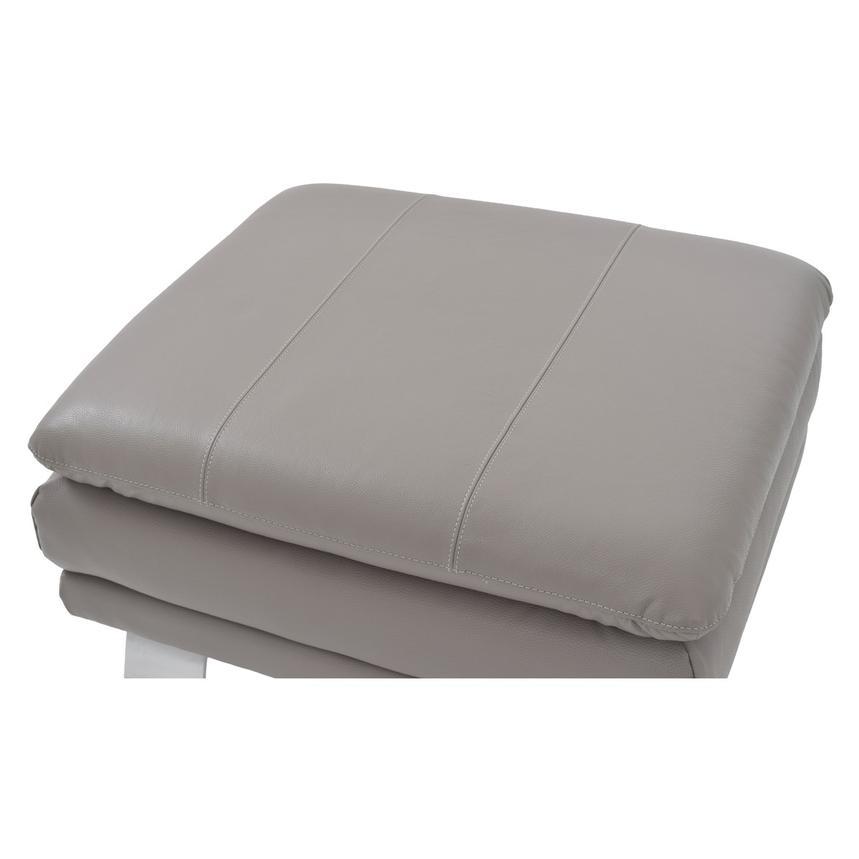 Super Rio Light Gray Leather Ottoman Made In Brazil Inzonedesignstudio Interior Chair Design Inzonedesignstudiocom