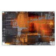Orange Crush Acrylic Wall Art  main image, 1 of 2 images.