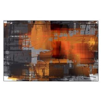 Orange Crush Acrylic Wall Art