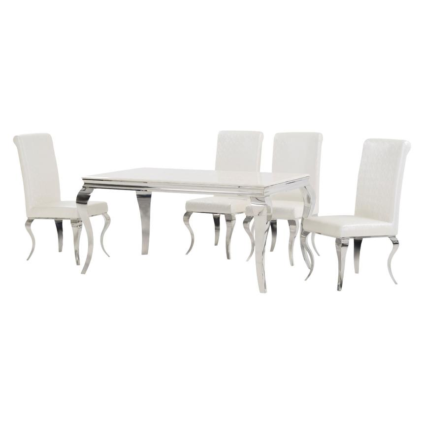 Lizbon 5-Piece Dining Set  alternate image, 2 of 10 images.