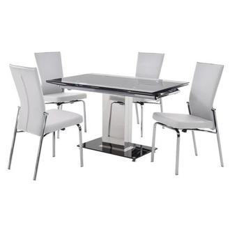 Antonia White 5-Piece Dining Set