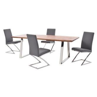Jade Gray Side Chair El Dorado Furniture