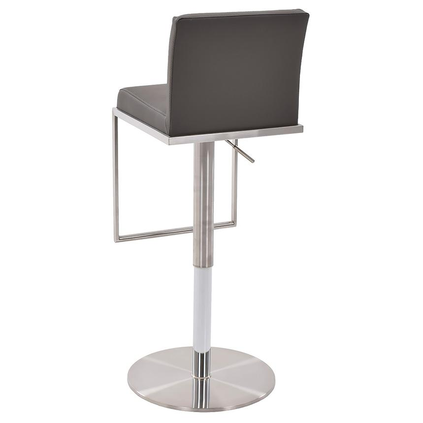 Brisa Gray Adjustable Stool  alternate image, 3 of 7 images.