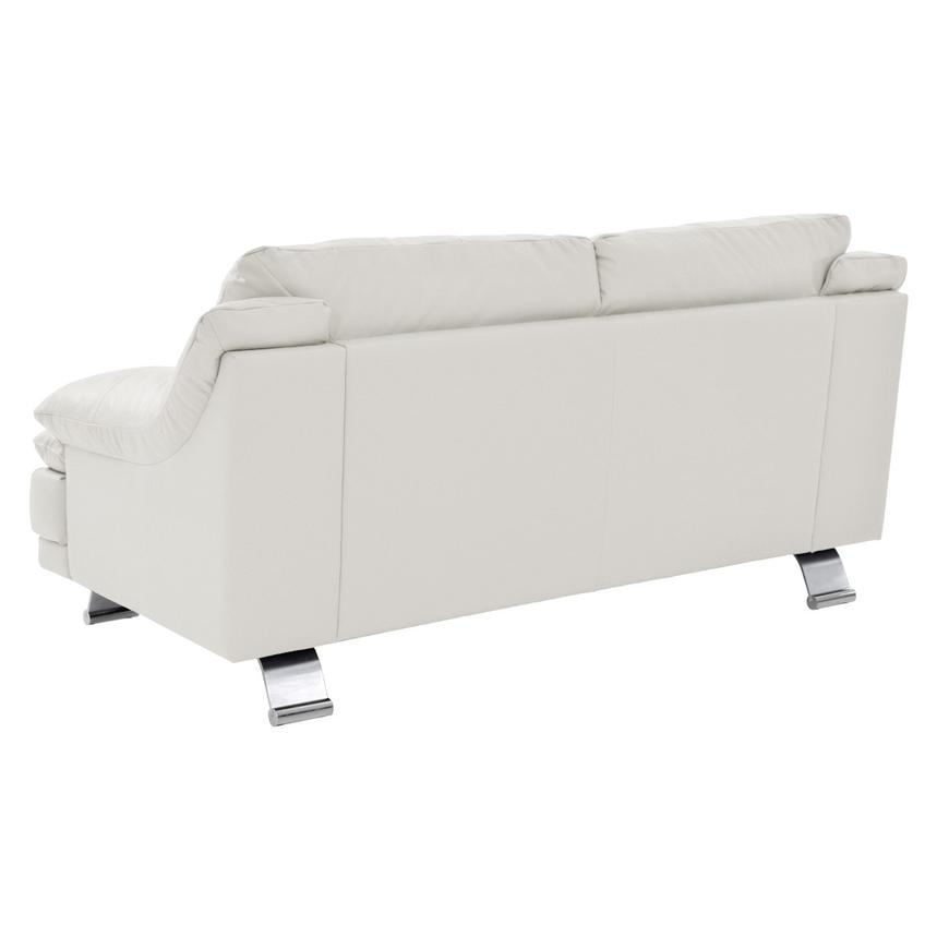 Incredible Rio White Leather Loveseat Made In Brazil Ibusinesslaw Wood Chair Design Ideas Ibusinesslaworg