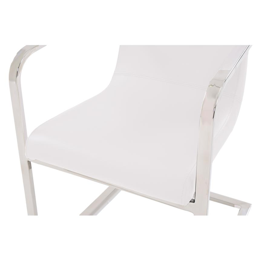 Lea White Arm Chair  alternate image, 4 of 5 images.