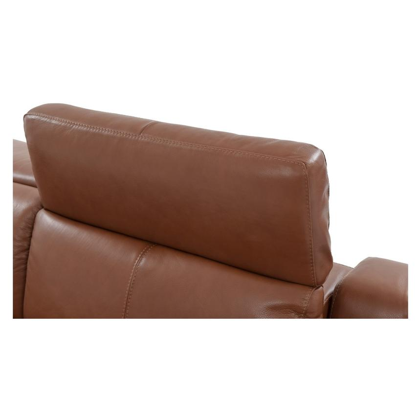 Gian Marco Tan Leather Power Reclining Sofa  alternate image, 7 of 10 images.