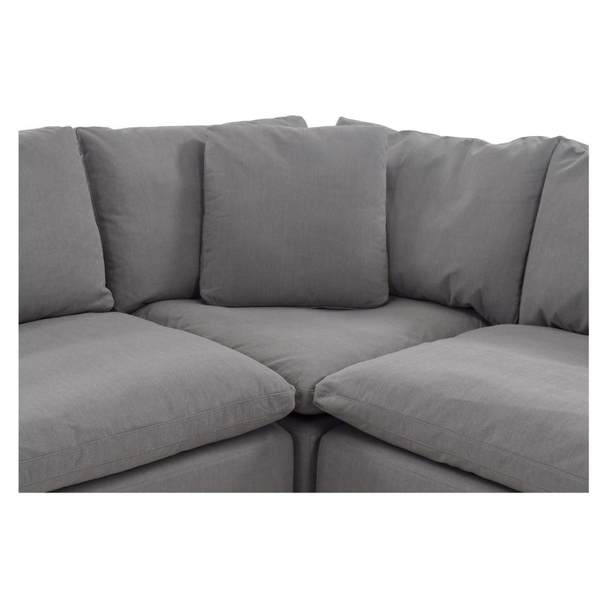 Nube II Gray Sectional Sofa  alternate image, 5 of 11 images.