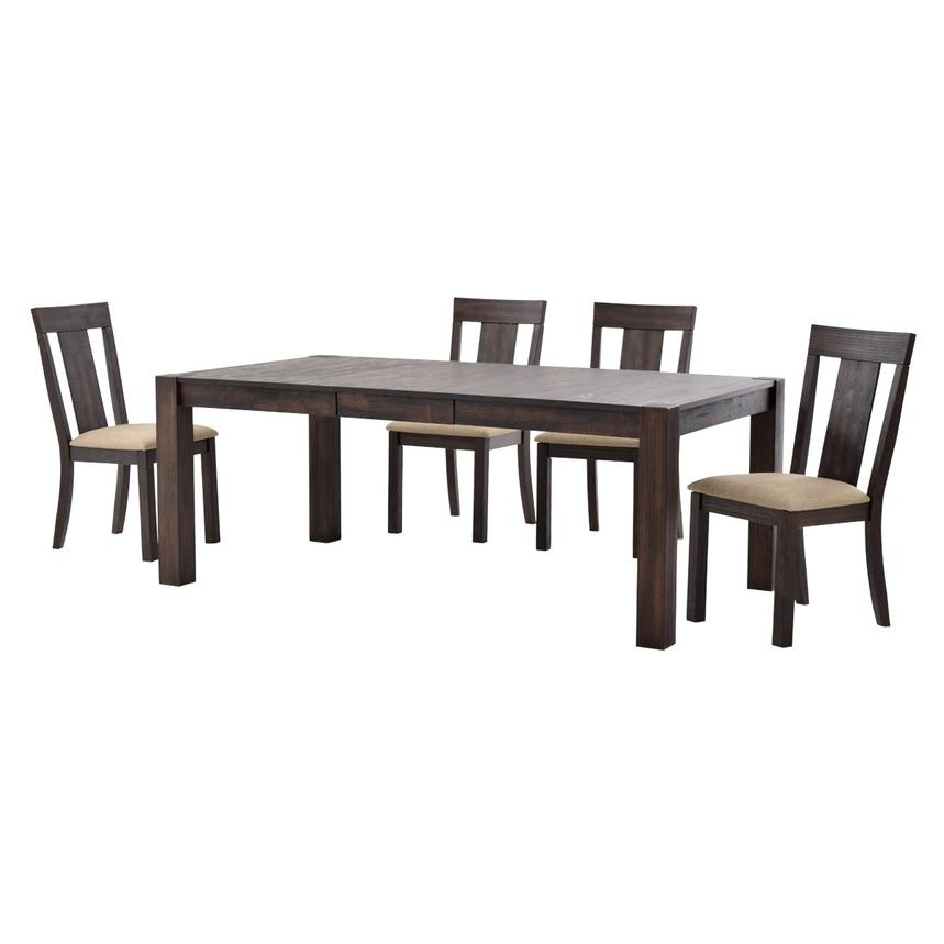Chaney 5-Piece Dining Set  alternate image, 2 of 12 images.