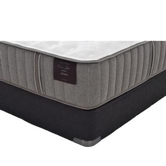 Oak Terrace II King Mattress Set w/Low Foundation by Stearns & Foster
