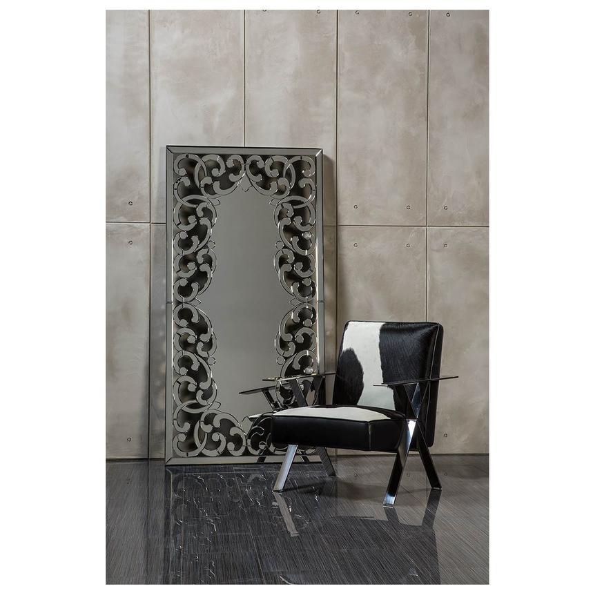 Cinzia Leather Accent Chair El Dorado Furniture