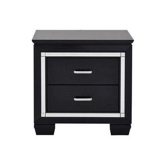 Isabel Black Nightstand