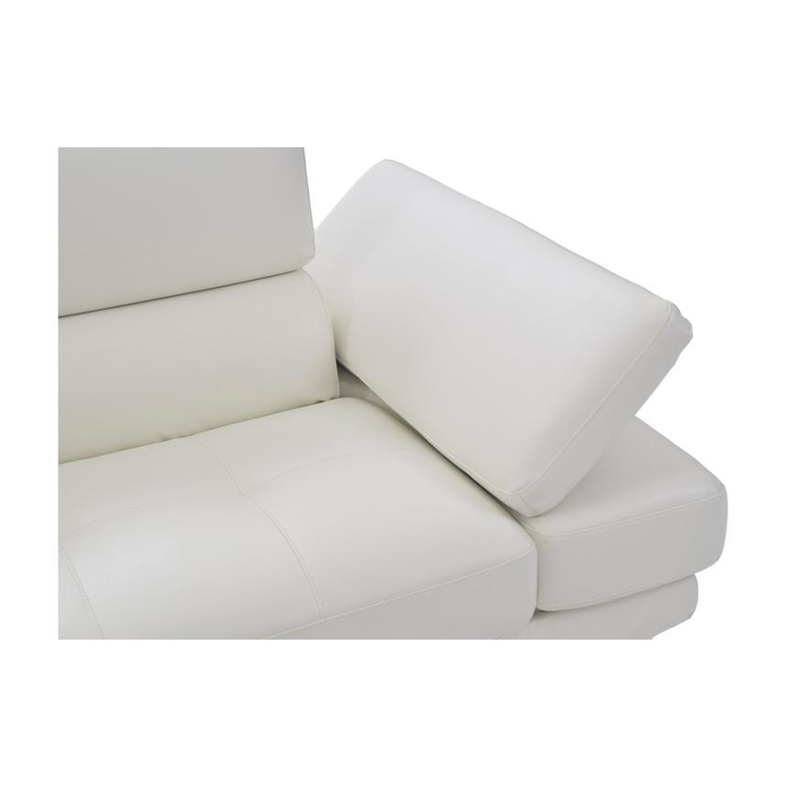 Tahoe II Off White Sofa w/Left Chaise  alternate image, 8 of 9 images.