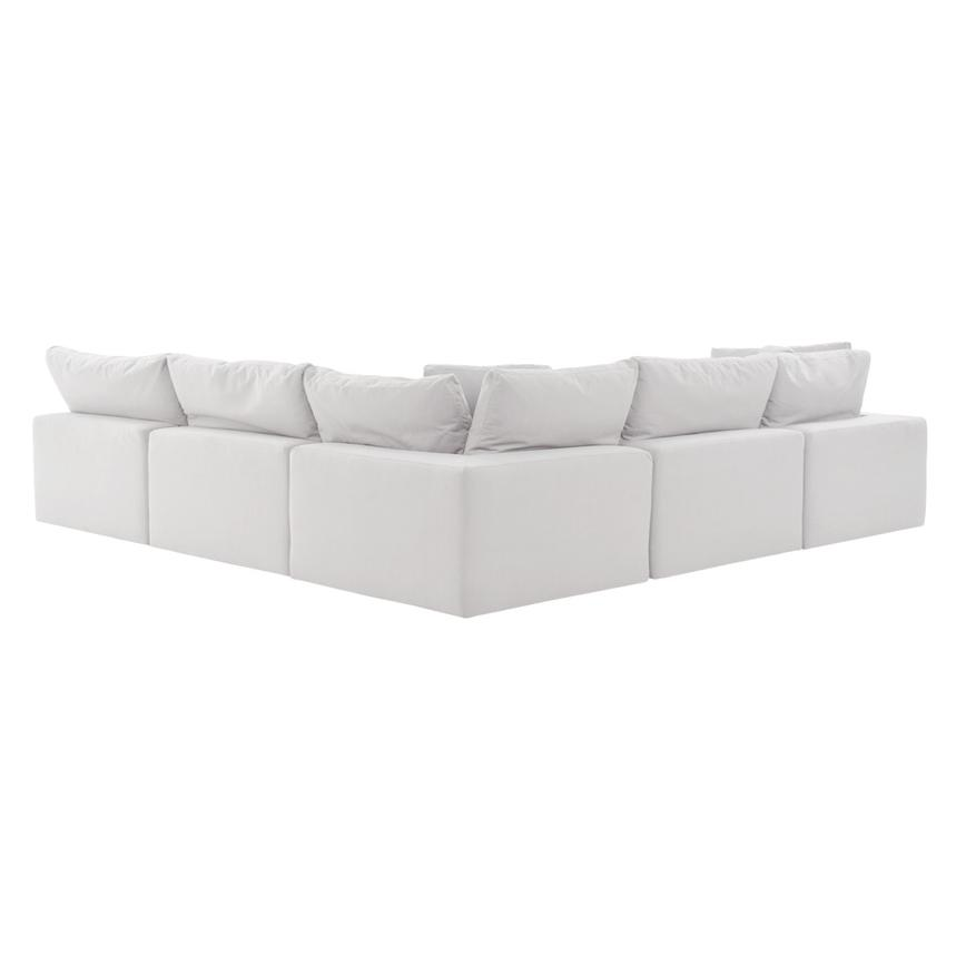 Nube II White Sectional Sofa  alternate image, 3 of 9 images.