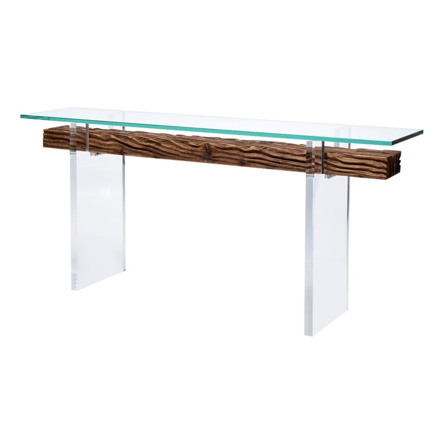 Miami Beach Natural Console Table  main image, 1 of 8 images.