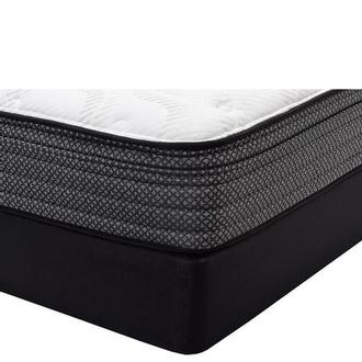 McClellan ET King Mattress w/Low Foundation