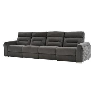 Kim Gray Oversized Sofa