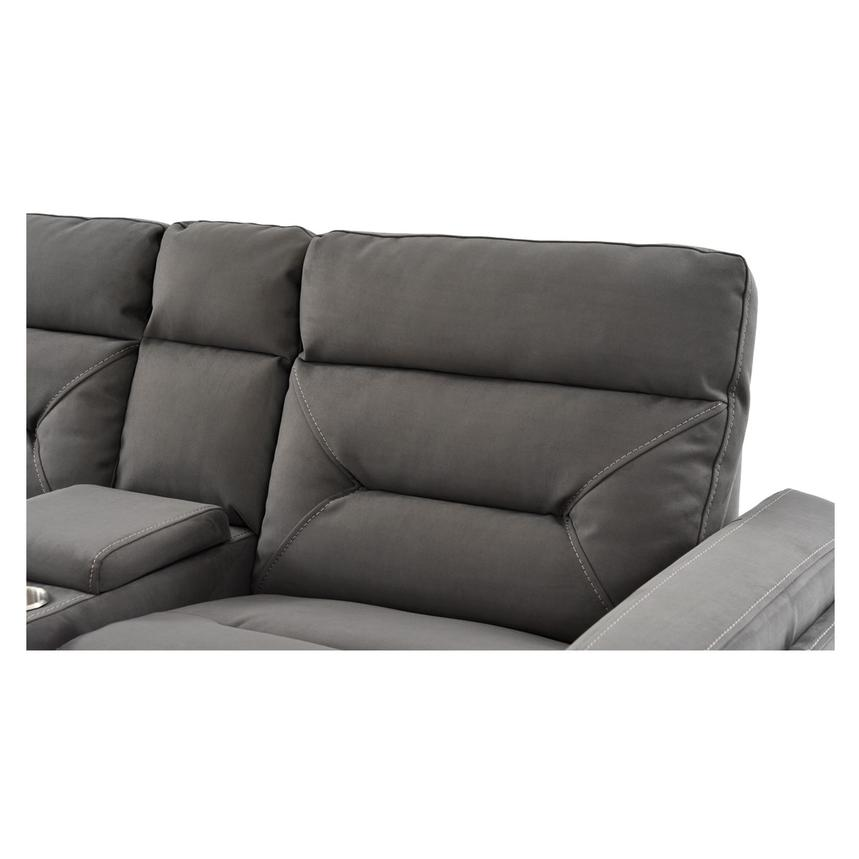 Kim Gray Power Motion Sofa w/Console  alternate image, 9 of 10 images.