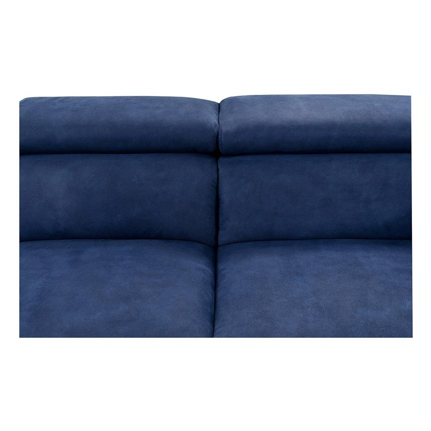 Kathan Blue Power Motion Sofa w/Right & Left Recliners  alternate image, 4 of 12 images.
