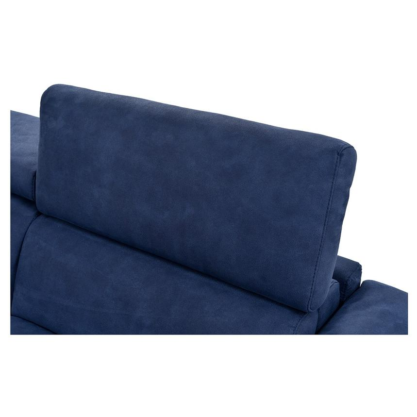 Kathan Blue Power Motion Sofa w/Right & Left Recliners  alternate image, 9 of 12 images.