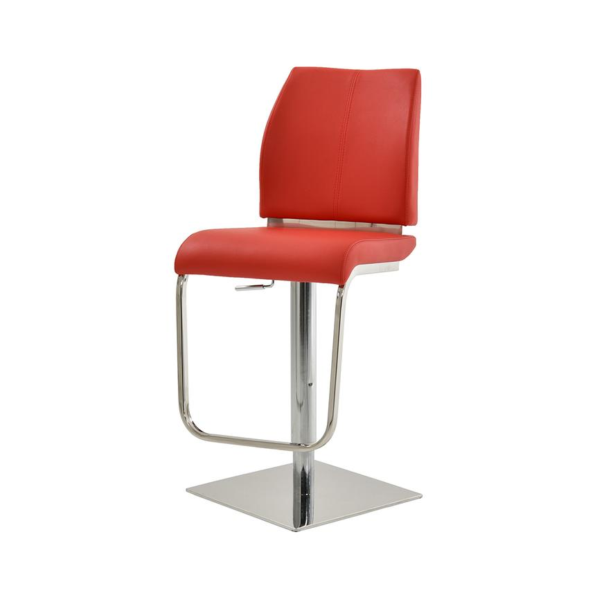 Maday Red Adjustable Stool  alternate image, 3 of 5 images.