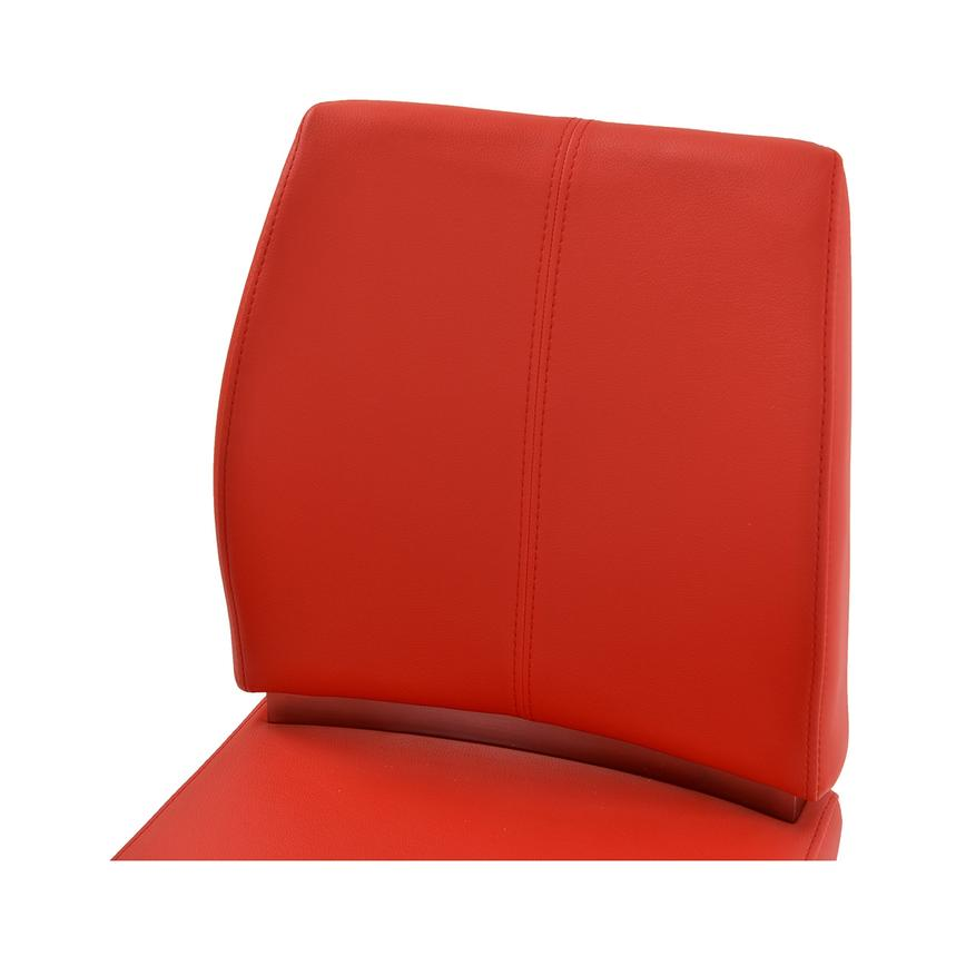 Maday Red Adjustable Stool  alternate image, 4 of 5 images.