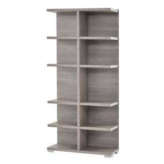 Tivo Gray Bookcase