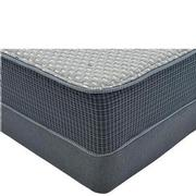 Marshall HB Queen Mattress w/Low Foundation by Simmons Beautyrest Silver  main image, 1 of 4 images.