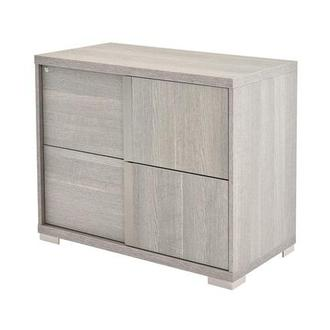 Tivo Gray Lateral File Cabinet Made in Italy