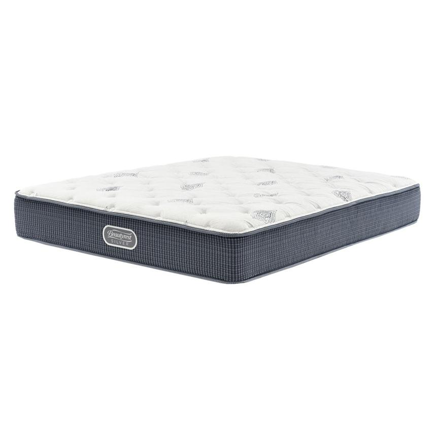 Ocean Springs Twin XL Mattress by Simmons Beautyrest Silver  main image, 1 of 4 images.