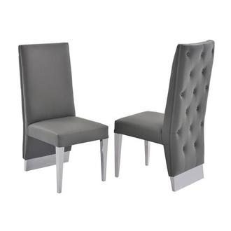 Ulysis Gray Side Chair