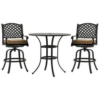 Castle rock bar stool el dorado furniture for Outdoor furniture hwy 7