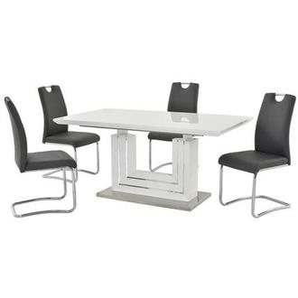 Lila Gray 5-Piece Dining Set