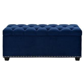 Majestic Blue Storage Bench