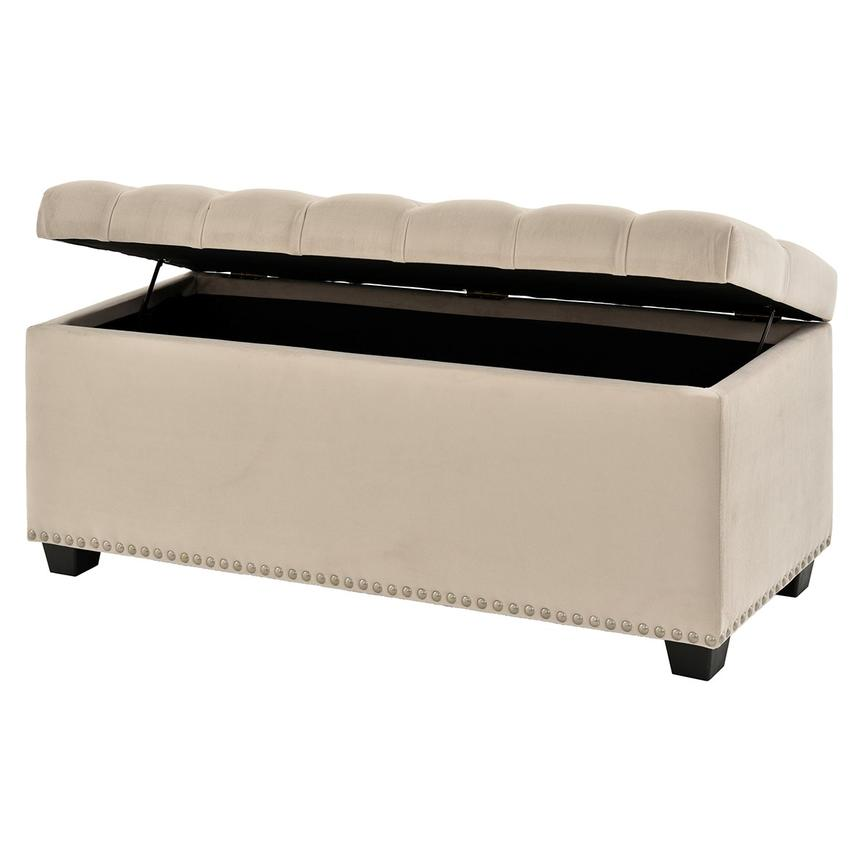 Excellent Majestic Beige Storage Bench Ncnpc Chair Design For Home Ncnpcorg