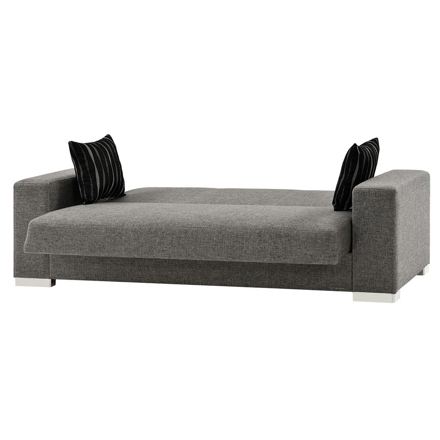 Kobe Gray Futon Sofa  alternate image, 3 of 7 images.