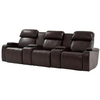 Magnetron Brown Home Theater Seating