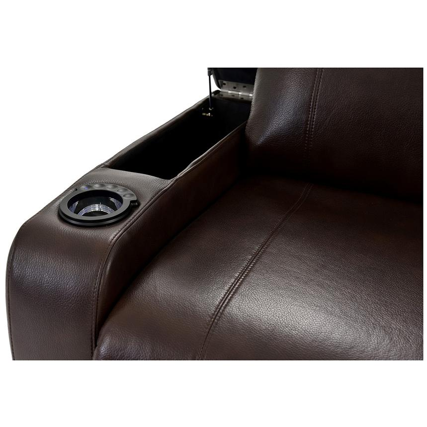 Magnetron Brown Home Theater Seating  alternate image, 8 of 10 images.