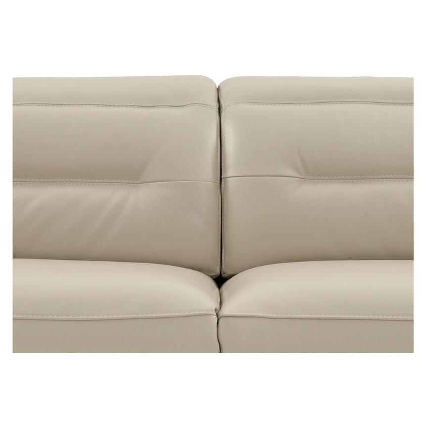 Anabel Cream Power Motion Leather Sofa w/Right & Left Recliners  alternate image, 8 of 13 images.