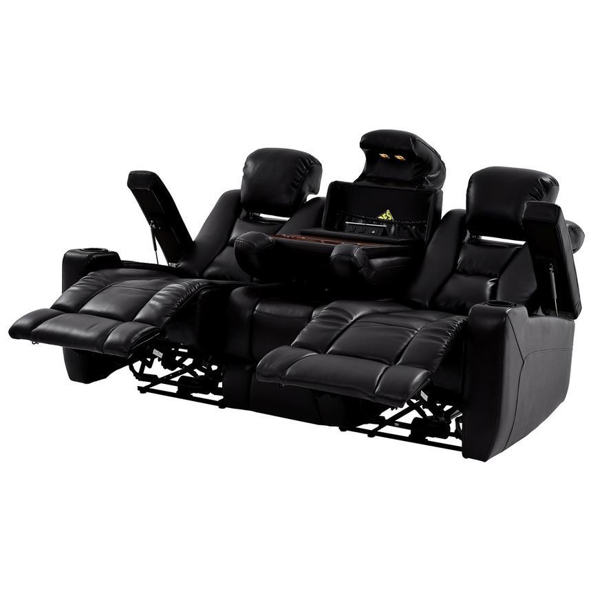 Transformer Ii Black Power Motion Sofa El Dorado Furniture