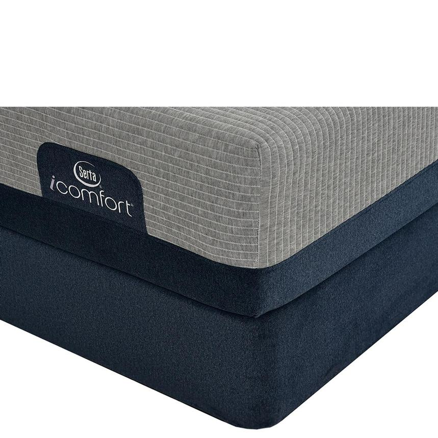 iComfort Blue Max 1000 Cushion Firm Twin XL Mattress w/Regular Foundation by Serta  main image, 1 of 4 images.